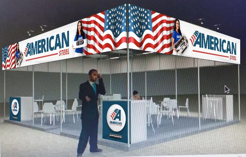 3D DO PROJETO AMERICAN STEEL