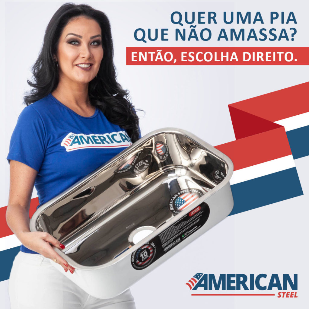 CAMPANHA COM A GRANDE HELEN GANZAROLLI AMERICAN STEEL 2019