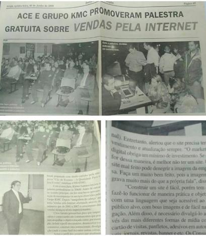 PALESTRA SOBRE COMO VENDER PELA INTERNET EM 2008